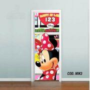 Adesivo De Porta Mickey Minnie Disney mod03