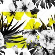 Papel De Parede Adesivo Flores Floral #08