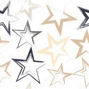 Papel De Parede Adesivo Decoração Estrelas #01