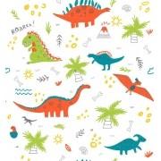 Papel De Parede Adesivo Dinossauros mod02