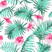 Papel De Parede Adesivo Flores Floral mod02