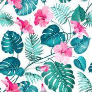 Papel De Parede Adesivo Flores Floral mod04
