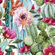 Papel De Parede Adesivo Flores Floral mod09