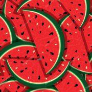 Papel De Parede Adesivo Frutas Melancia