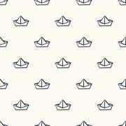 Papel De Parede Adesivo Marinheiro Barco mod01