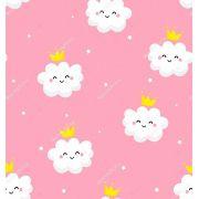 Papel De Parede Adesivo Nuvens Chuva Nuvem mod01