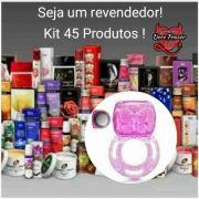 Kit Sexshop 45 Produtos Atacado Revenda Sex Shop Doce Prazer