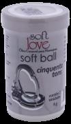 SOFT BALL 50 TONS DE LIBERDADE BOLINHA FUNCIONAL 02 UNIDADES SOFT LOVE