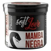 TRIBALL MAMBA NEGRA BOLINHA FUNCIONAL 03 UNIDADES SOFT LOVE