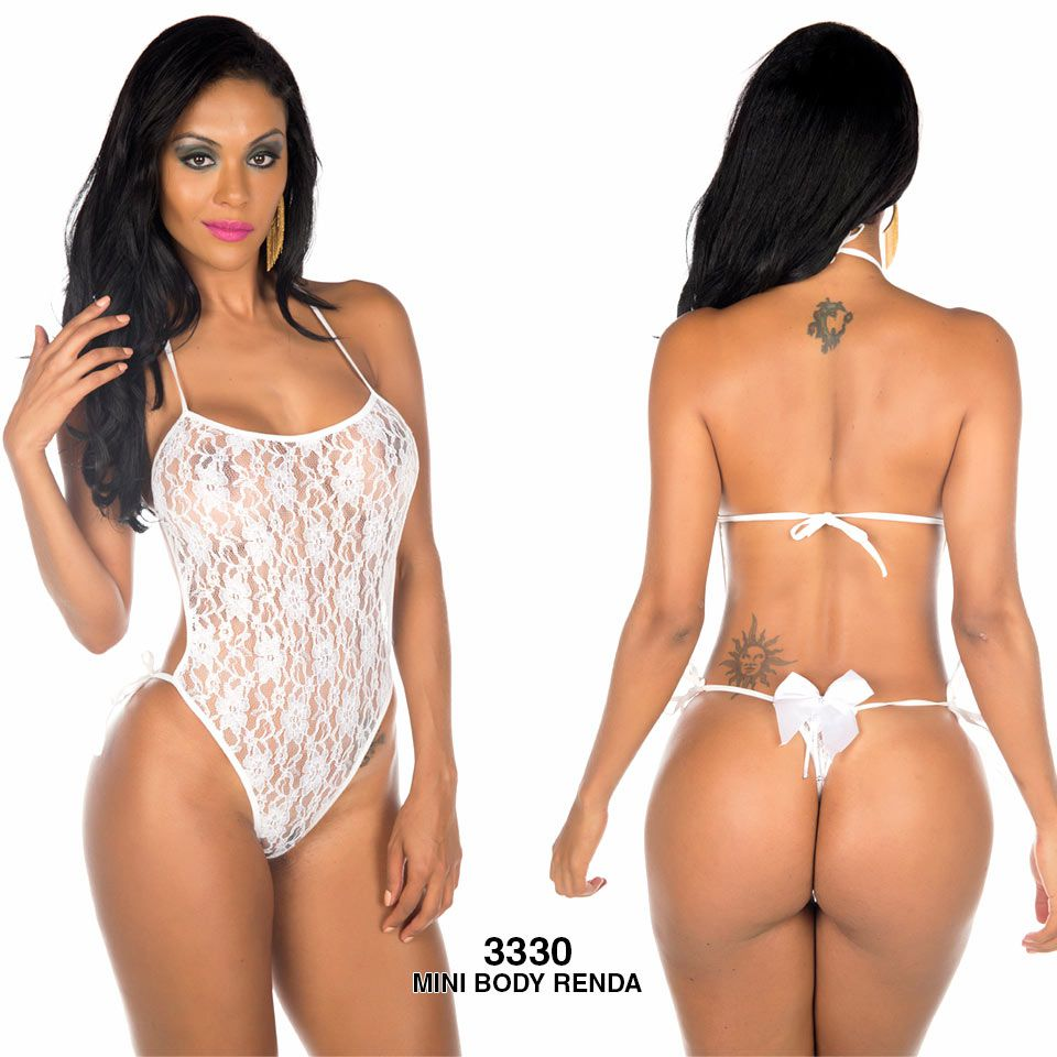 BODY RENDA MINI FANTASIA PIMENTA SEXY