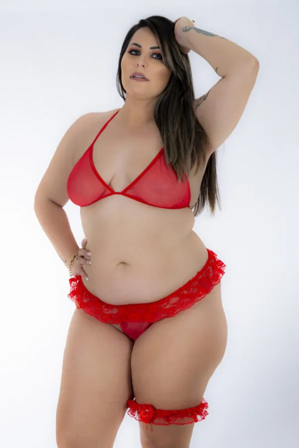 CONJUNTO SEX PLUS MINI FANTASIA PIMENTA SEXY