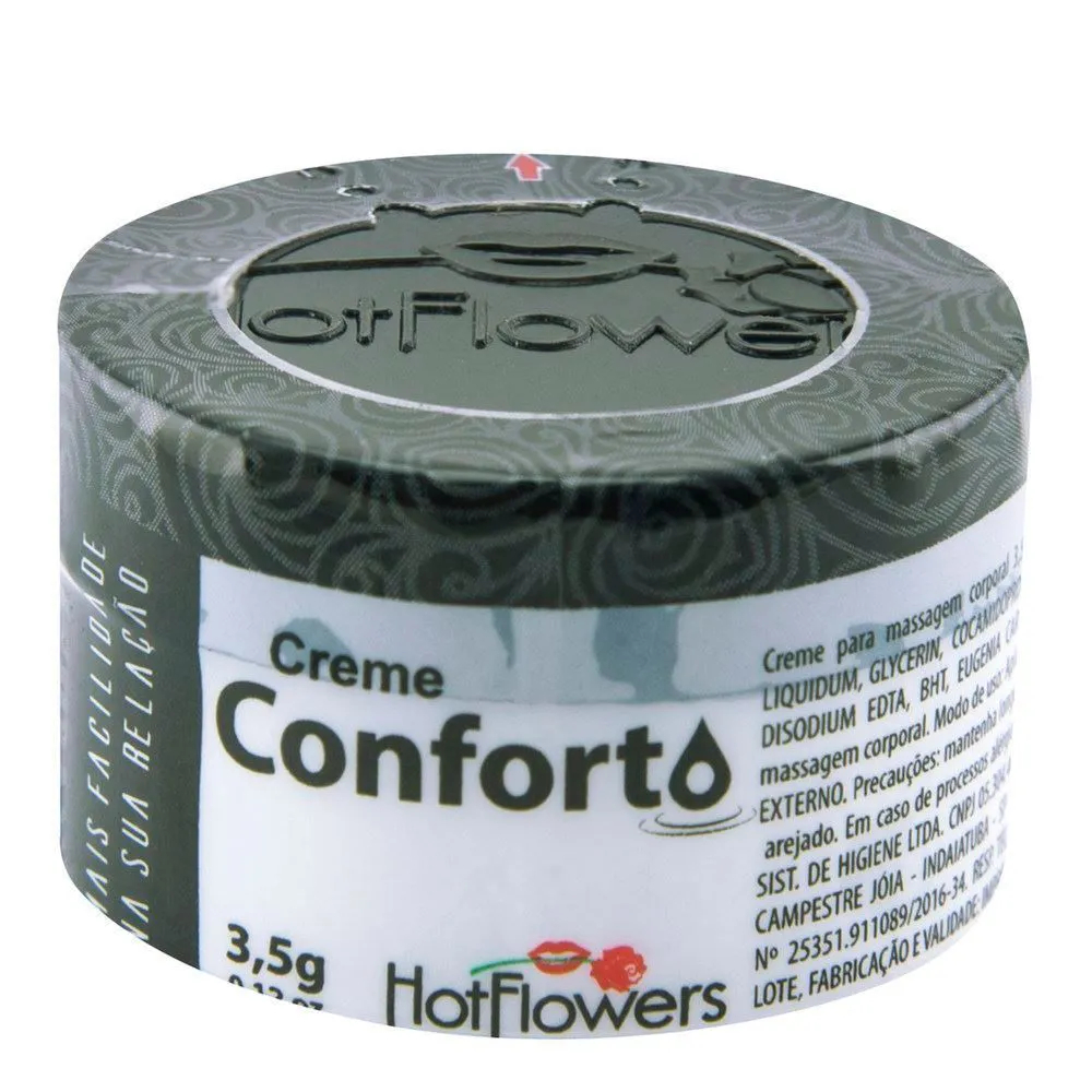 CREME CONFORTO ANAL 3,5G HOT FLOWERS