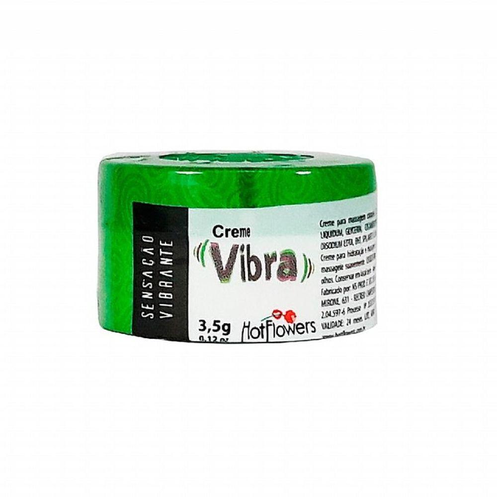 CREME VIBRA EXCITANTE UNISSEX 3,5G HOT FLOWERS