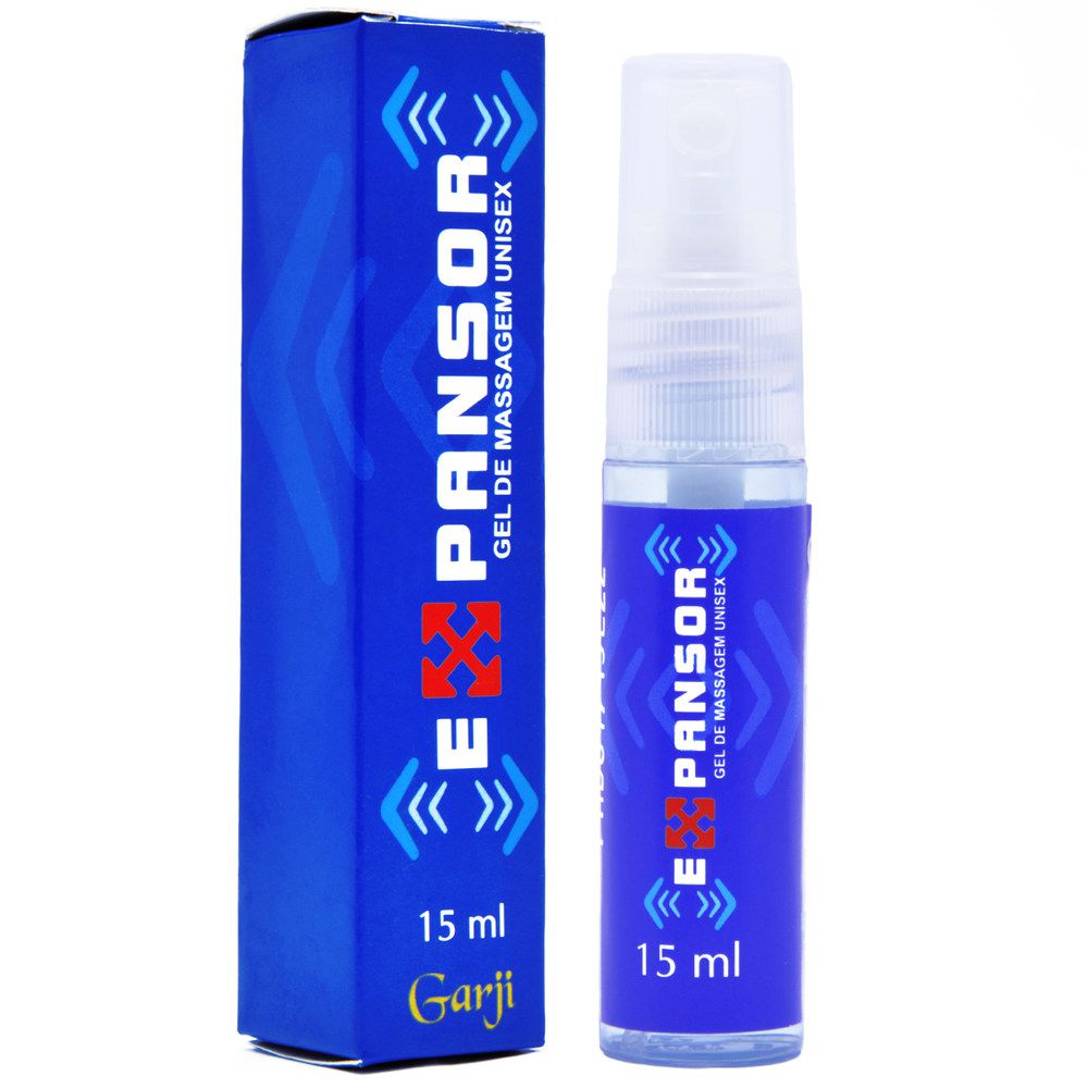 EXPANSOR VASODILATADOR UNISSEX SPRAY 15ML GARJI