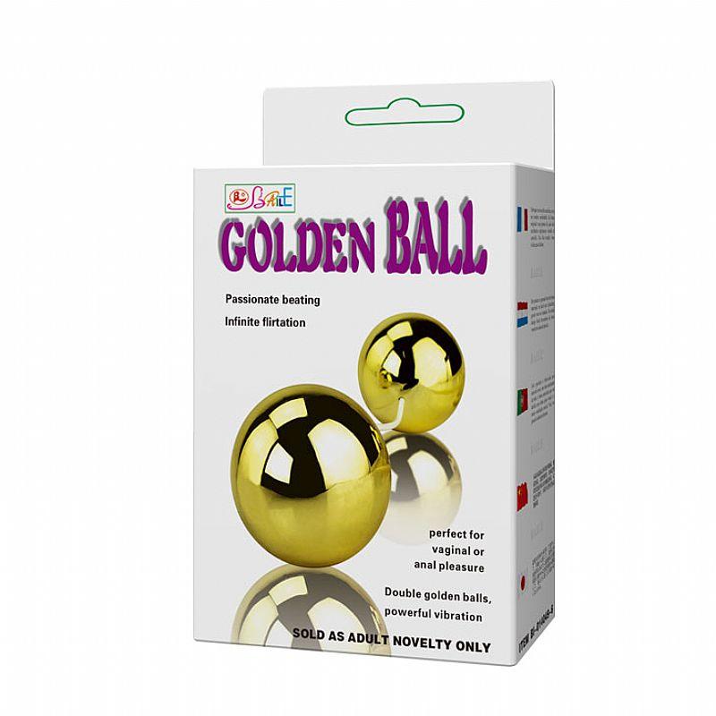 GOLDEN DUO BALL BOLINHA TAILANDESA DUPLA COM VIBRO IMPORTADO