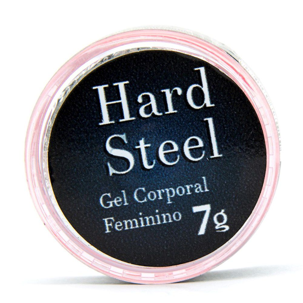 HARD STEEL EXCITANTE FEMININO POTE 7G GARJI