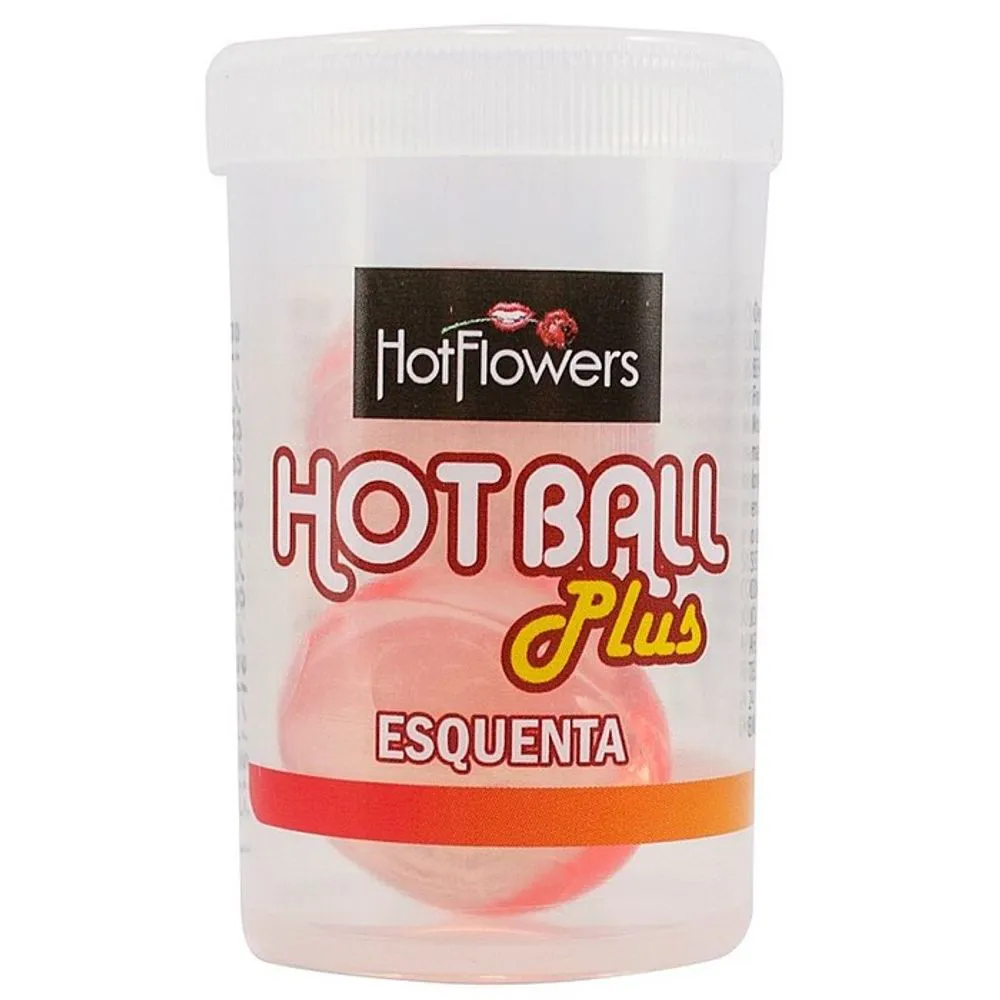 HOT BALL PLUS ESQUENTA 2 UNID HOT FLOWERS