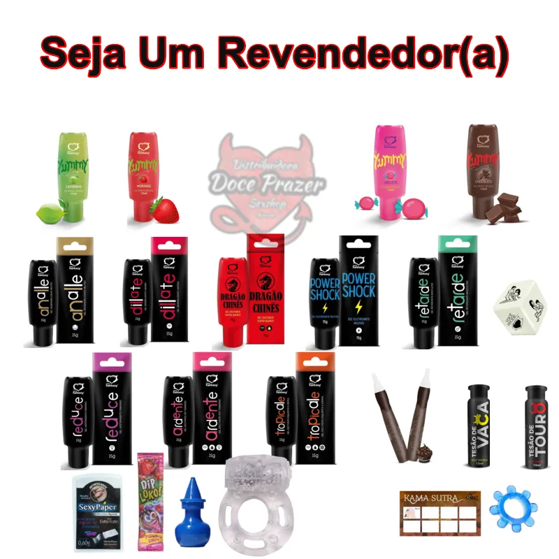 Kit Sex Shop 50 Produtos Atacado Revenda Sexshop Sexy fantasy