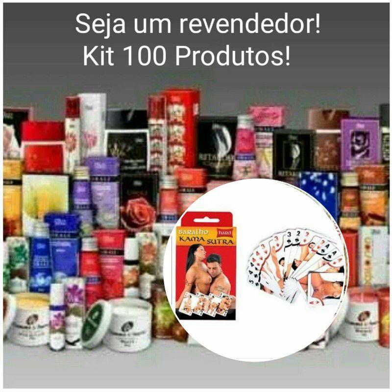 KIT SEX SHOP REVENDA ATACADO 100 PRODUTOS