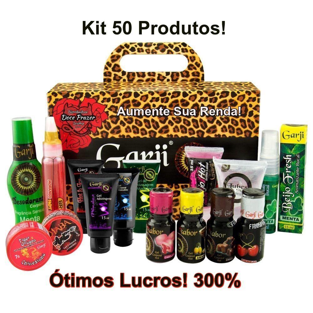 Kit Sexshop 50 Produtos Revenda Doce Prazer Sex Shop