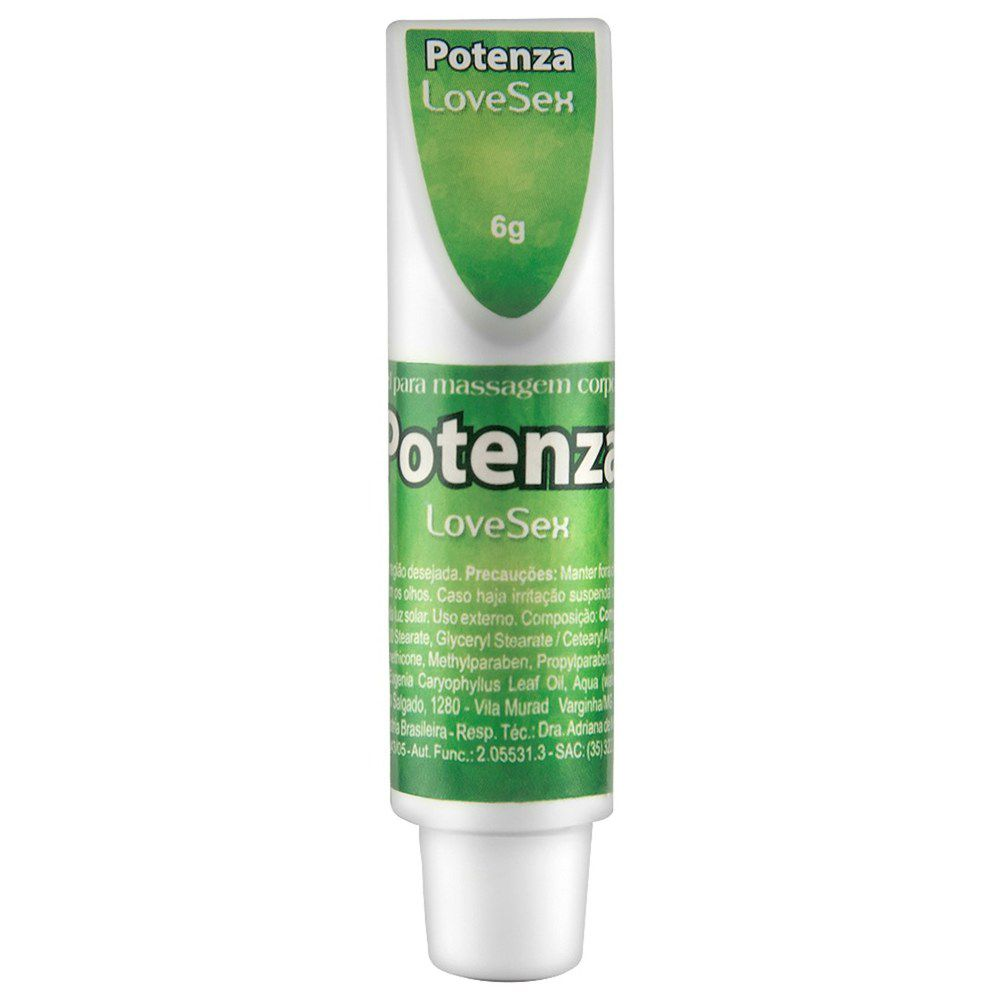 POTENZA CREME RETARDADOR 6G LOVE SEX