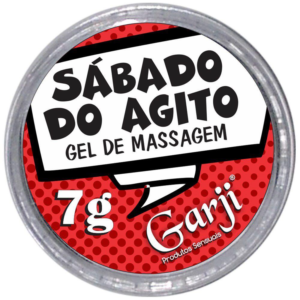 SABADO DO AGITO VIBRADOR LIQUIDO POTE 7G GARJI