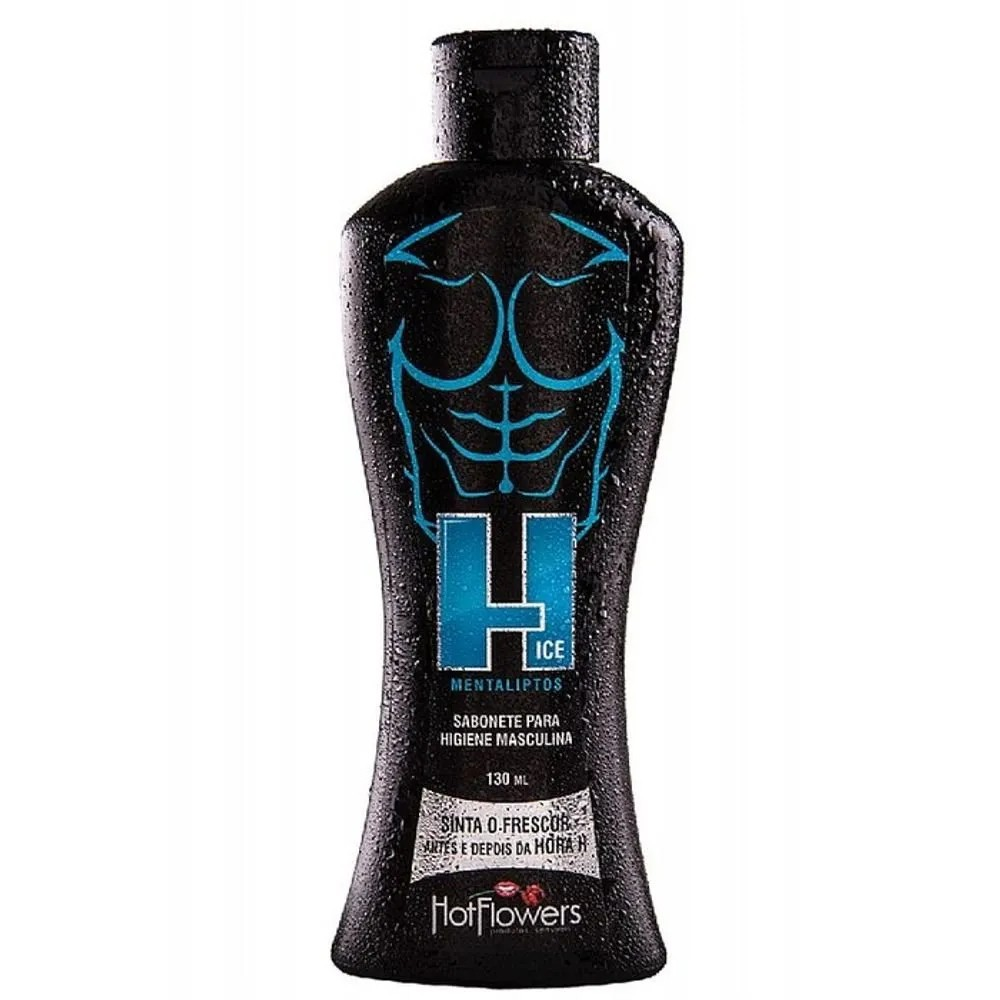 SABONETE INTIMO MASCULINO H ICE HOT FLOWERS