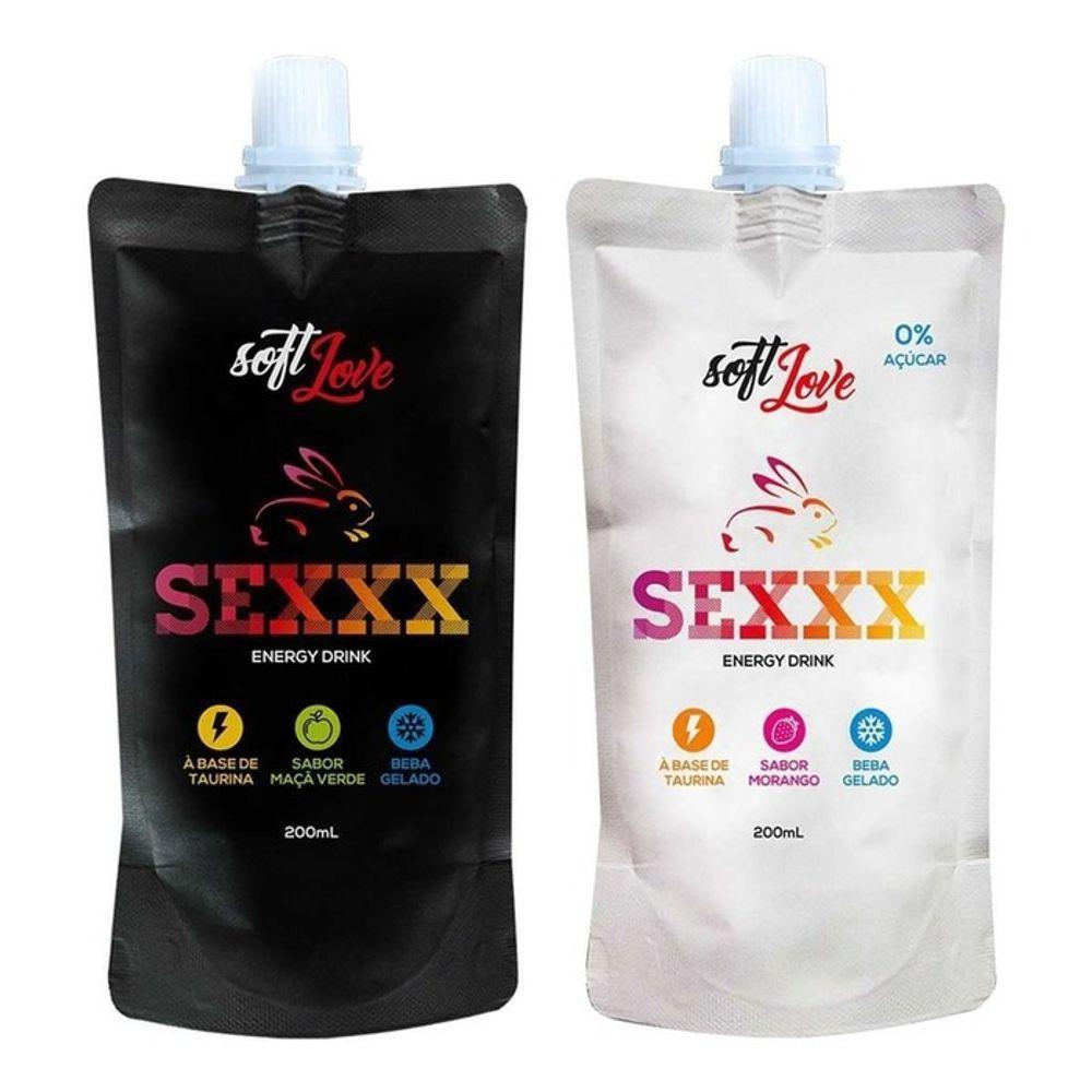 SEXXX ENERGY DRINK ENERGÉTICO AFRODISÍACO 200ML SOFT LOVE