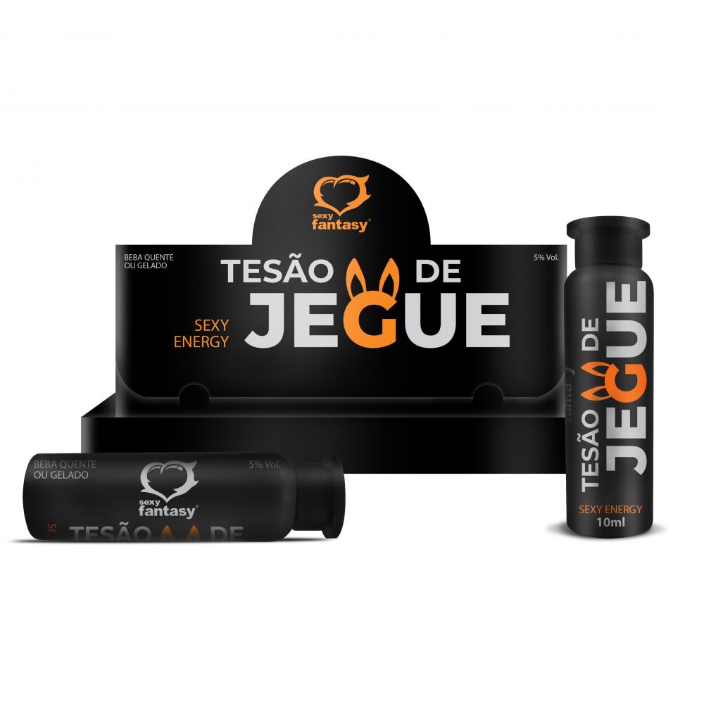 TESÃO DE JEGUE 10ML AFRODISIACO MASCULINO SEXY FANTASY