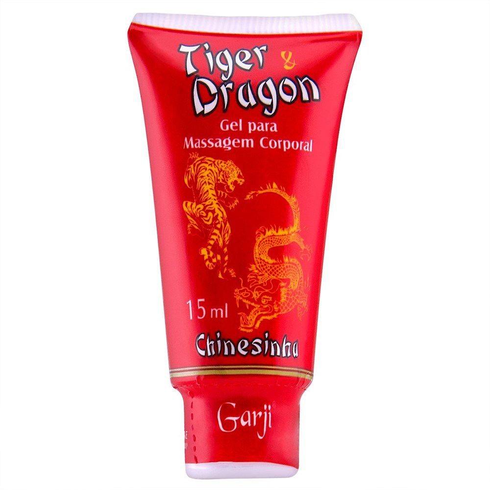 TIGER & DRAGON BISNAGA CHINESINHA EXCITANTE 15ML GARJI