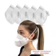 Máscara de Proteção N95 PFF2S
