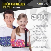 Tipóia ortopédica infantil - Kestal