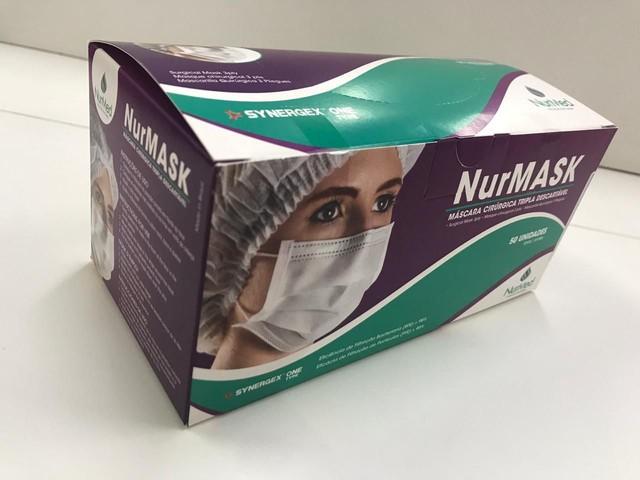 Máscara cirúrgica NurMASK