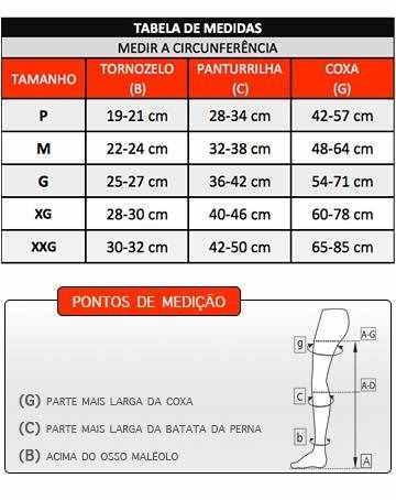 Meia Calça Medi 20-30 mmHg Duomed