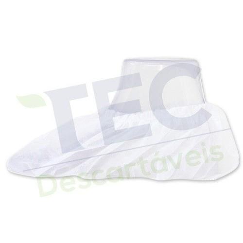 Propé Descartável - Branco - Pct com 100 unidades