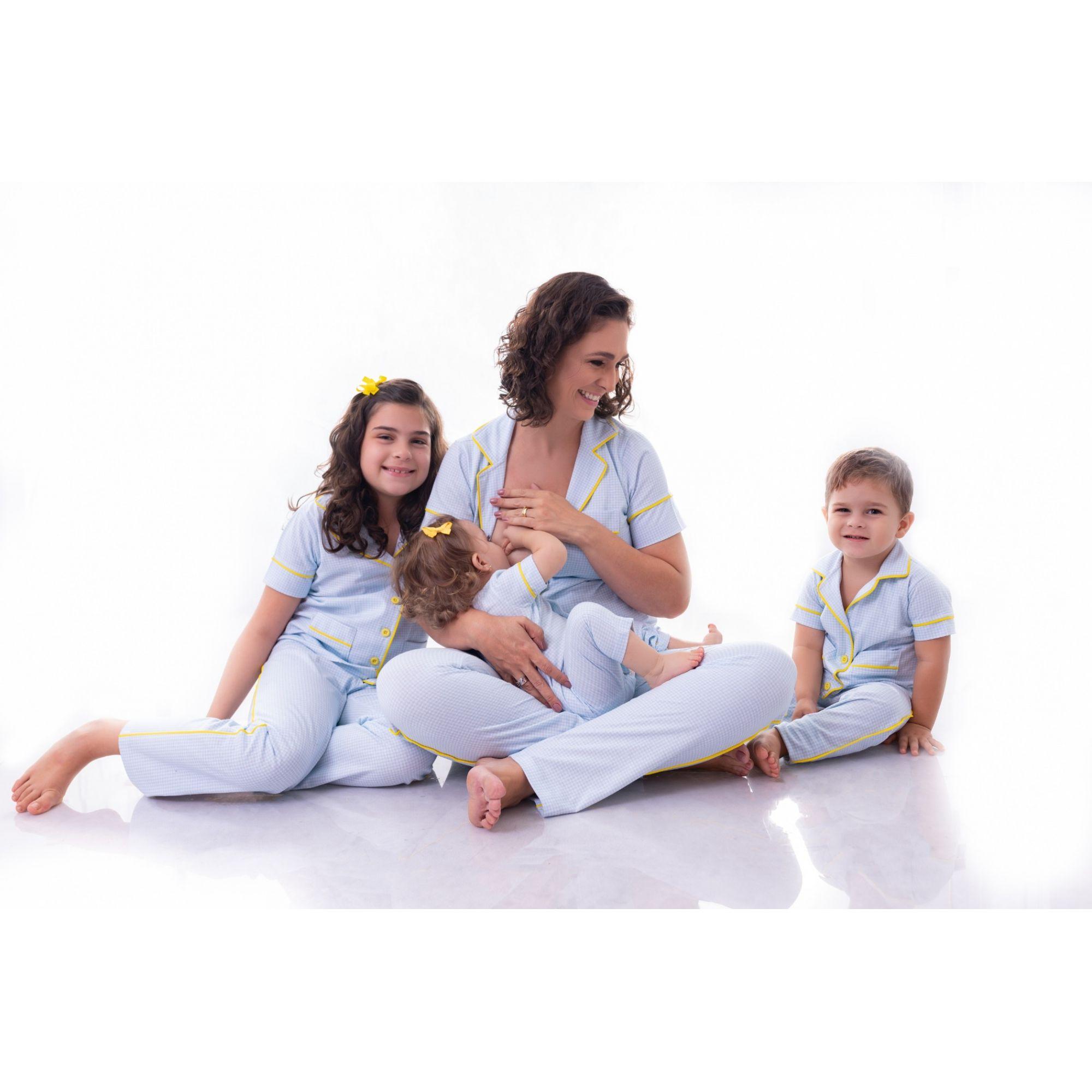 Pijama Tal Mãe Tal Filhos do bebê