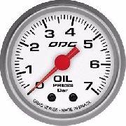 Manômetro Odg Drag Pressão Óleo Oil 7 Bar 52mm + Copinho
