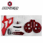 Kit Personalização Honda Crf 230 Biker Vermelho 5 Peças