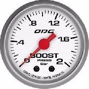 Manômetro Odg Drag Boost 2 Bar 52 Mm Pressão De Turbo
