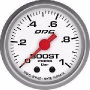 Manômetro Odg Drag Boost 1 Bar 52 Mm Pressão De Turbo