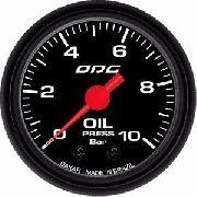 Manômetro Odg Dakar Oil 10 Bar Pressão De Óleo 52mm