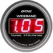 Wideband Odg Evolution Lsu 4.2 52 Mm Led Vermelho
