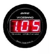 Wideband Odg Dakar Lsu 4.2 52mm Led Vermelho