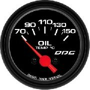 Indicador Odg Dakar Oil Temp 52mm Temperatura Do Óleo