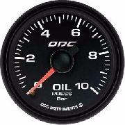 Manômetro ODG Dakar Full Color Pressão Óleo Oil 10 Bar 52mm