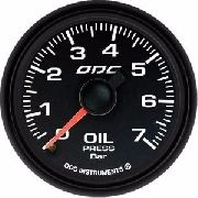 Manômetro Odg Dakar Full Color Pressão Óleo Oil 7 Bar 52mm