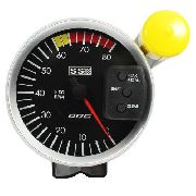 Contagiros Odg Ss Opala Aro Prata 8.000 Rpm 127mm Full Color