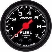 Manômetro Combustivel Combustível Odg Dakar Fuel 7 Bar 52 Mm