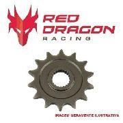Pinhão Red Dragon 11 Dentes Motocross Honda Crf230 2007-2017