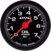 Manômetro Odg Dakar Pressão De Óleo Oil 7 Bar 52 Mm